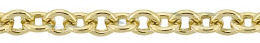 Gold-Filled Round Cable Chain 2.80mm Chain Width 13479-GF