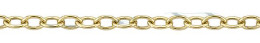Gold-Filled Round Cable Chain 1.90mm Chain Width 13488-GF