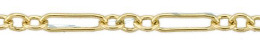 Gold-Filled Long And Short Cable Chain 2.0mm Chain Width 13496-GF