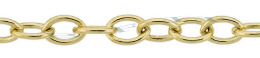 Gold-Filled Oval Cable Chain 4.70mm Chain Width 13502-GF