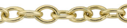 Gold-Filled Oval Cable Chain 5.80mm Chain Width 13507-GF