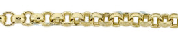 Gold-Filled Oval Cable Chain 5.90mm Chain Width 13506-GF