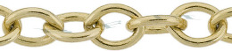 Gold-Filled Oval Cable Chain 7.80mm Chain Width 13509-GF