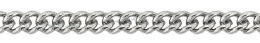 2.3mm Width Sterling Silver Curve Chain 13510-Ss