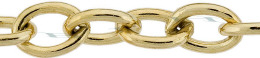 Gold-Filled Oval Cable Chain 8.50mm Chain Width 13511-GF