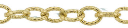 Gold-Filled Twisted Oval Cable Chain 5.70mm Chain Width 13515-GF