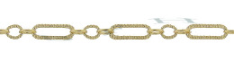 Gold-Filled Hammer Long And Short Chain 1.74mm Chain Width 14783-GF