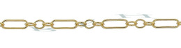 Gold-Filled Long And Short Chain 1.74mm Chain Width 14784-GF