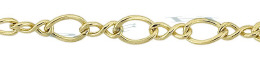 Gold-Filled Figure Eight Chain 4.0mm Chain Width 14788-GF
