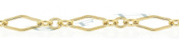 Gold-Filled Flat Long And Short Chain 2.95mm Chain Width 14799-GF