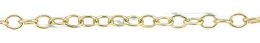 Gold-Filled Round Cable Chain 1.50mm Chain Width 15773-GF