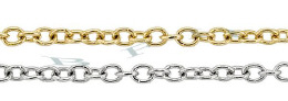 1.80mm Width 14K Round Cable Chain 15785-14K