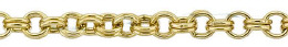Gold-Filled Round Double Cable Chain 2.50mm Chain Width 16872-GF