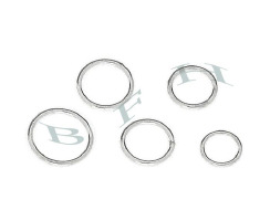 Sterling Silver Soldered Jumpring (Closed 0 Rings)