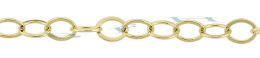 Gold-Filled Flat Oval Chain 4.0mm Chain Width 17810-GF