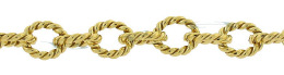 Gold-Filled Twisted Round Cable Chain 5.92mm Chain Width 18298-GF