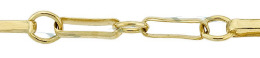 Gold-Filled Long And Short Chain 5.30mm And 2.90mm Chain Width 18324-GF