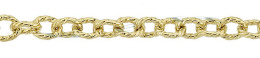 Gold-Filled Twisted Round Cable Chain 3.95mm Chain Width 18453-GF