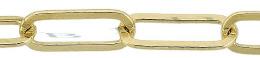 Gold Filled Flat Elongated Chain 6.87mm Chain Width 18454-GF