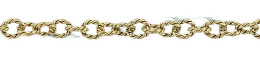 Gold-Filled Twisted Round Cable Chain 3.0mm Chain Width 18458-GF