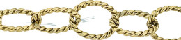 Gold-Filled Twisted Oval Cable Chain 8.50mm Chain Width 18462-GF