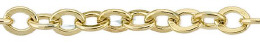 Gold-Filled Flat Oval Cable 2.90mm Chain Width 18531-GF