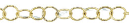 Gold-Filled Round Cable Chain 5.30mm Chain Width 22672-GF
