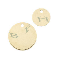 Gold-Filled Disc Charms 23818-GF
