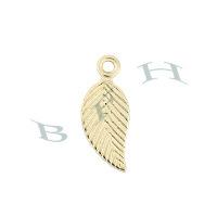 Gold-Filled Leaf 12mm Charms 23819-GF