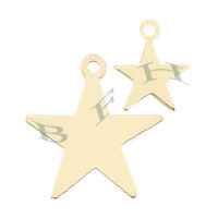 Gold-Filled Star Charms 23823-GF