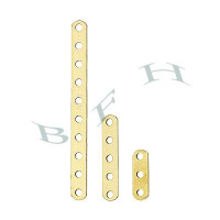 Gold-Filled 2.5mm Bead Spacing Divider 2401-GF