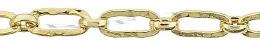 Gold-Filled Hammer Elongated Chain 2.80mm Chain Width 24342-GF