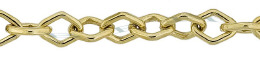 Gold-Filled Diamond Shape Chain 5.50mm Chain Width 24689-GF