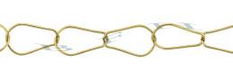 Gold-Filled Pear Shape Chain 10.0mm Chain Width 24834-GF