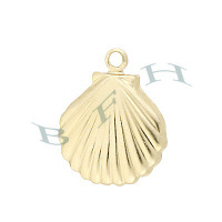 Gold-Filled Clamshell Charms 26260-GF
