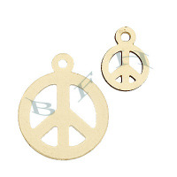 Gold-Filled Peace Charms 26268-GF