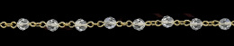 6mm 5000 Crystal Swarovski Linked Chain 26293-Gp