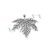 Oxided Silver Maple Leaf 27978-Ss