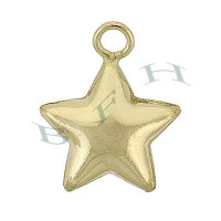 Gold-Filled Star Charms 28661-GF