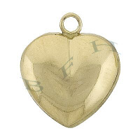 Gold-Filled Heart Charms 28662-GF