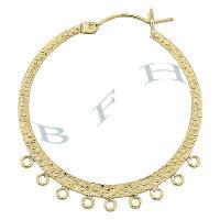 Gold-Filled Hoop Earrings