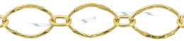Gold-Filled Hammer Long And Short Oval Chain 7.0mm Chain Width 28834-GF