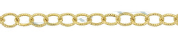Gold-Filled Oval Spiral Chain 3.50mm Chain Width 28835-GF