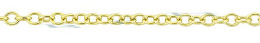 Gold-Filled Round Cable Chain 1.50mm Chain Width 28916-GF