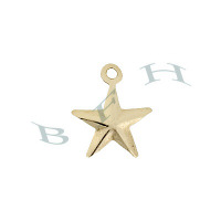 Gold-Filled Star 8mm Charms 29093-GF