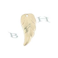 Gold-Filled Leaf 12mm Charms 29095-GF