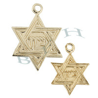 Gold-Filled Star Of David Charms 29096-GF