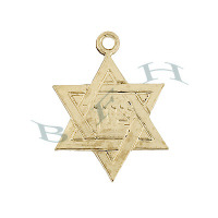 Gold-Filled Star Of David Charms 29097-GF