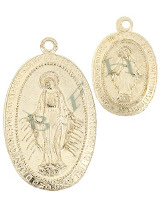 Gold-Filled Mary Charms 29109-GF