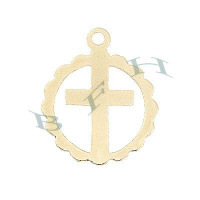 Gold-Filled Cross Charms 29123-GF